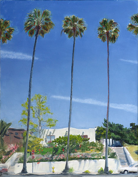 Mission Hills palms, by Eric Platt, 2007
